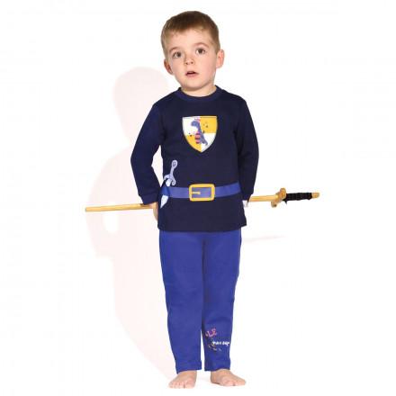 Pyjama garçon manches longues Chevalier