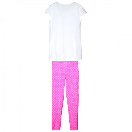 Pyjama tunique + legging fille Caramel