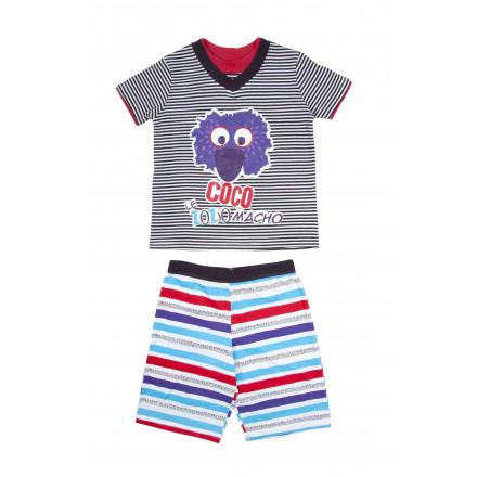 Pyjama garçon manches courtes Zozio